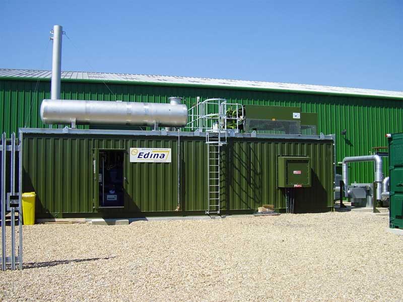 Mwm Mwm Container Cogeneration Plant In Ireland
