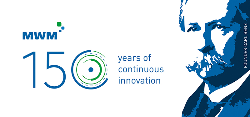 150 years MWM - 150 years of continuous innovation