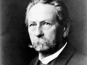 Carl Benz, founder of the company