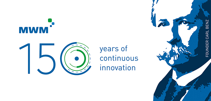 150 Jahre MWM - 150 years of continuos innovation