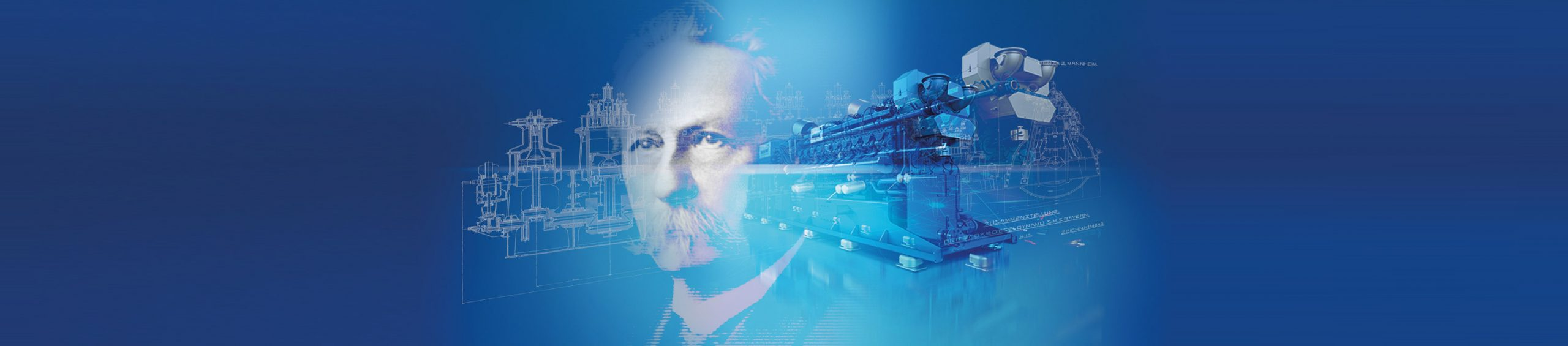 150 Jahre MWM Gasmotoren