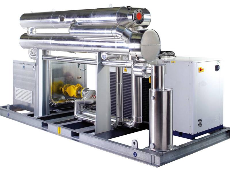 Gasaufbereitung für Biogasanlagen
