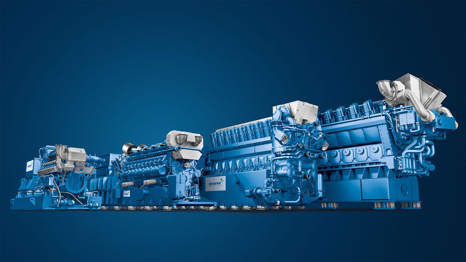 MWM Gasmotoren Leistungsklassen