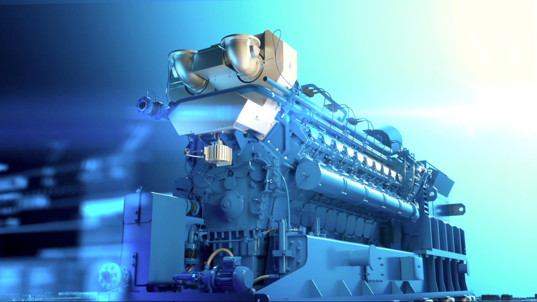 MWM Gasmotor TCG 3020 V12, V16 und V20