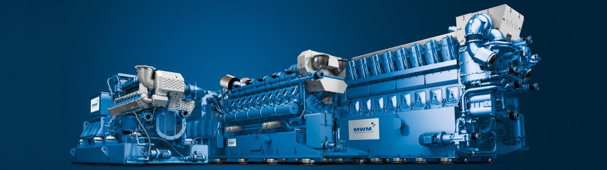 <b>MWM</b> Gasmotoren