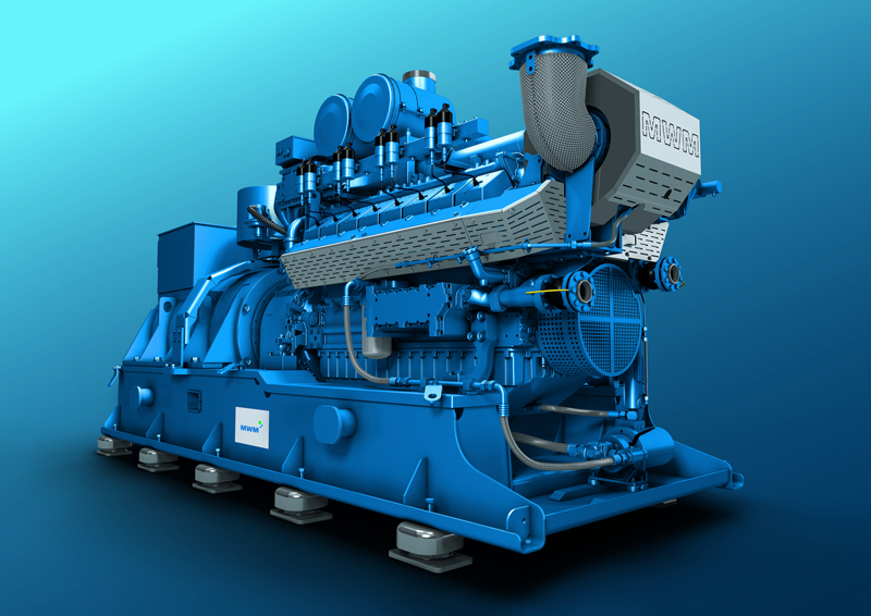 Mwm Gas Engines Gensets Cogeneration Chp Plant 2017