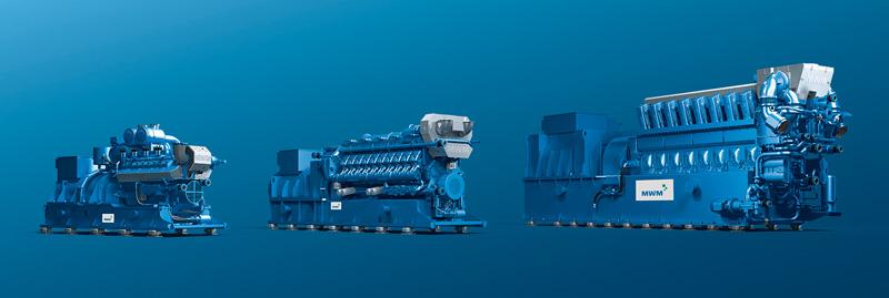 Gas Engines: Mwm Gas Engines Germany